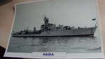 Haida 1942 Destroyer warship framed picture (12)